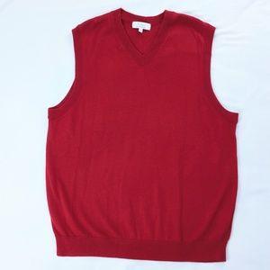 Turnbury Extra Fine Merino Wool V Neck Vest